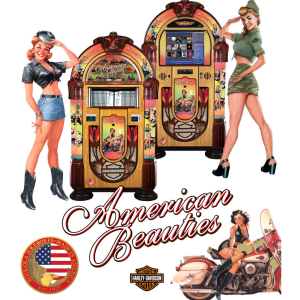 Rock-Ola American Beauties Jukeboxes | moneymachines.com