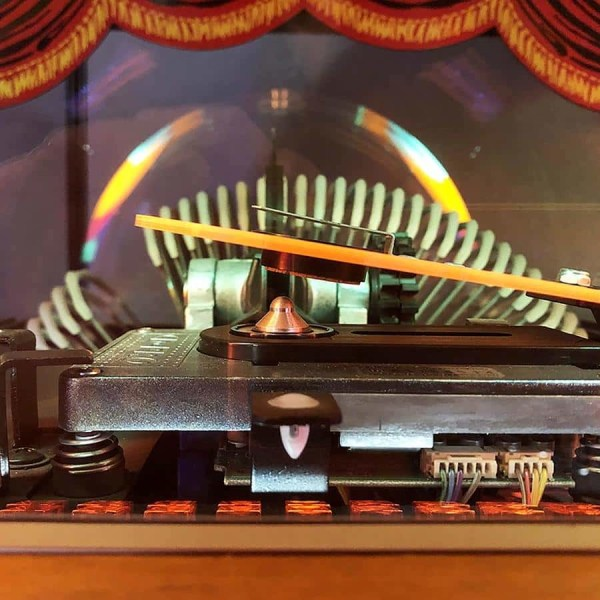 Rock-Ola Bubbler CD Jukebox Window | moneymachines.com