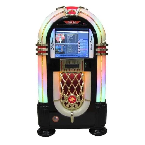 Rock-Ola Bubbler MC (Music Center) Digital Jukebox | Black Finish | moneymachines.com