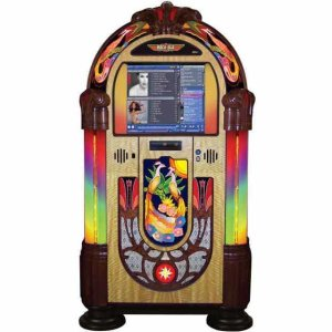 Rock-Ola Peacock MC (Music Center) Digital Jukebox | moneymachines.com