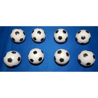 8 Checkered Soccer Balls   moneymachines.com