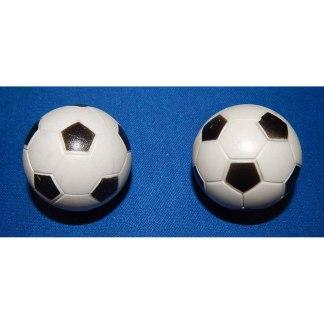 2 Checkered Soccer Balls   moneymachines.com