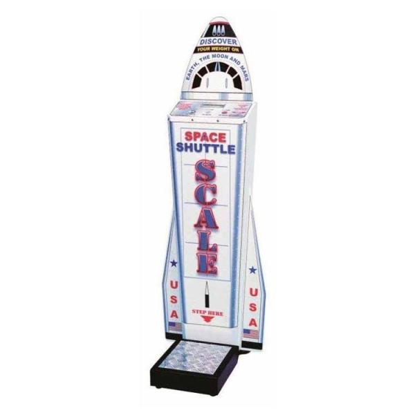 Space Shuttle Coin Operated Weight Scale | moneymachines.com