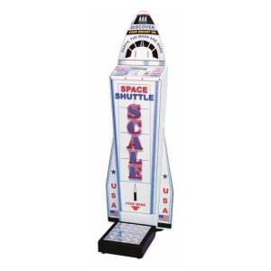 Space Shuttle Coin Operated Weight Scale   moneymachines.com