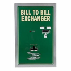 Standard Change Makers BX1020RL Rear Loading Bill to Bill Change Machine | moneymachines.com