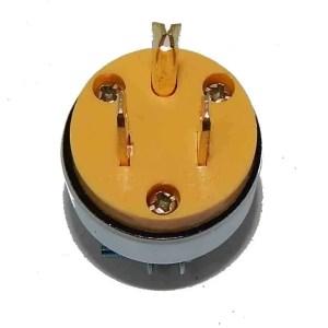 110 Volt Male Plug | moneymachines.com