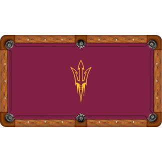 Arizona State Sun Devils Billiard Table Cloth   moneymachines.com