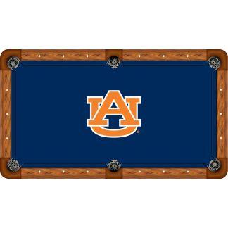 Auburn Tigers Billiard Table Cloth | moneymachines.com