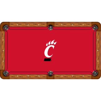Cincinnati Bearcats Billiard Table Cloth | moneymachines.com