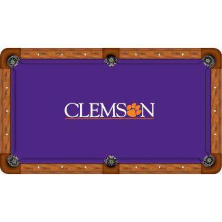 Clemson Tigers Billiard Table Cloth | moneymachines.com
