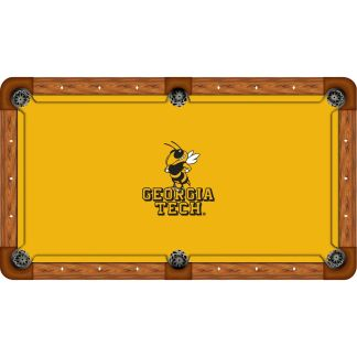 Georgia Tech Yellow Jackets Billiard Table Cloth | moneymachines.com