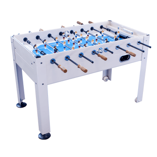 2-4 Player Blue Sky Indoor and Outdoor Game Room Soccer Table | GT-BS-1100 | moneymachines.com