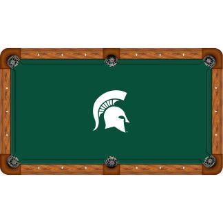 Michigan State Spartans Billiard Table Cloth | moneymachiines.com