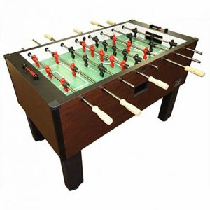 Shelti Pro Foos™ II Deluxe Home Foosball Table | moneymachines.com