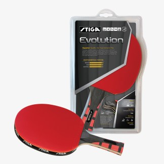 Stiga Evolution Table Tennis Racket - T1281 | moneymachines.com