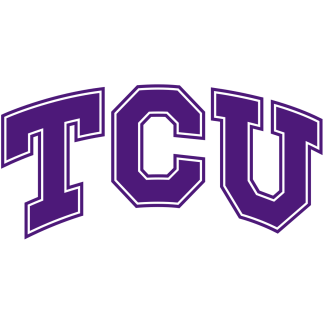 TCU Horned Frogs College Logo Game Room Accessories