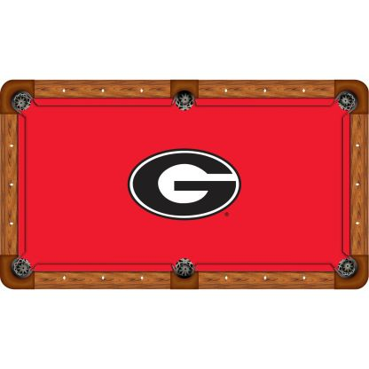 Georgia Bulldogs Billiard Table Cloth | moneymachines.com