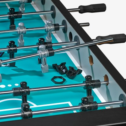 VF5100 HJ Scott Velocity Foosball Table | Silver | 3 Man Goalie Rod Bearings | moneymachines.com