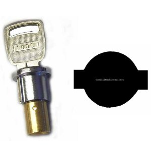 A & A PO89 and PM Supreme Vendor High Security Lock With Key and Receiver | moneymachines.com