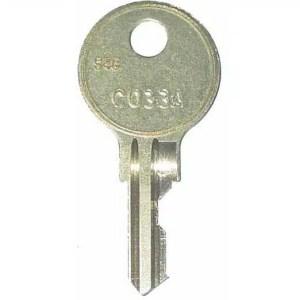 C33A or CO33A Rowe/AMI Jukebox Key | moneymachines.com