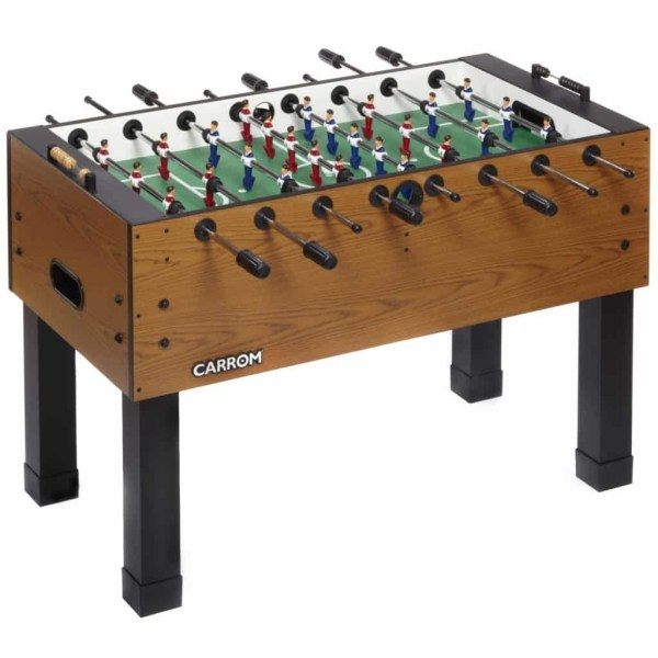 Carrom Burr Oak Foosball Table | moneymachines.com
