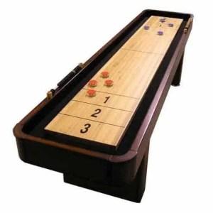 CL Bailey 9 Foot Traditional Mahogany Shuffleboard Table | moneymachines.com