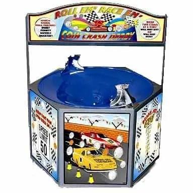 Coin Crash Derby Spiral Coin Funnel | moneymachines.com