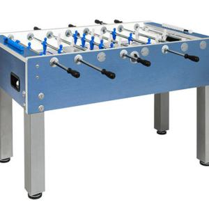 Garlando G-500 Blue Weatherproof Outdoor Foosball Table | moneymachines.com