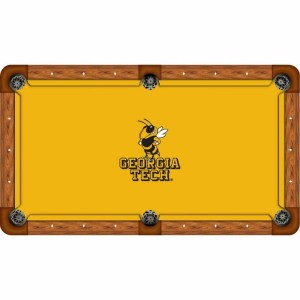 Georgia Tech Yellow Jackets Billiard Table Cloth   moneymachines.com