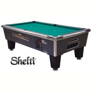 Gold Standard Games Dual Coin Operated Pool Table | moneymachines.com