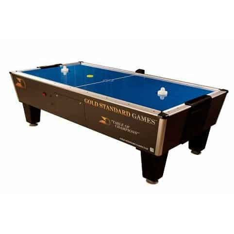 Gold Standard Games Tournament Pro Home Air Hockey Table With Side Scoring   moneymachines.com
