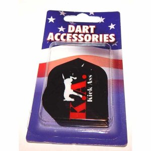 Hammer Head Kick Ass Standard Dart Flights | moneymachines.com