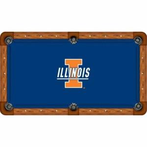 Illinois Fighting Illini Billiard Table Cloth | moneymachines.com