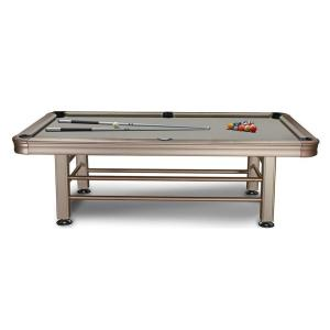 Imperial 8' Outdoor Pool Table Side View | moneymachines.com