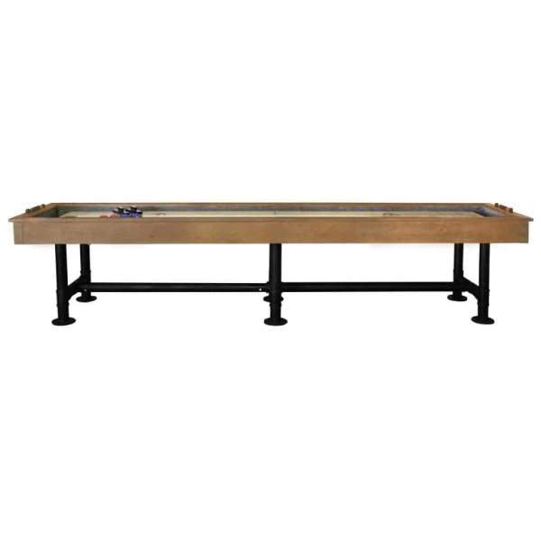 Imperial Bedford Shuffleboard Table | Desert Chestnut | moneymachines.com