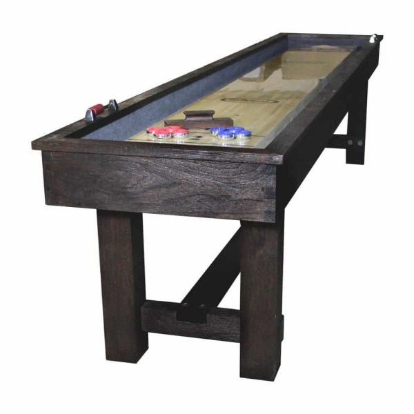 Imperial Rustic Reno 12' Shuffleboard Table | moneymachines.com
