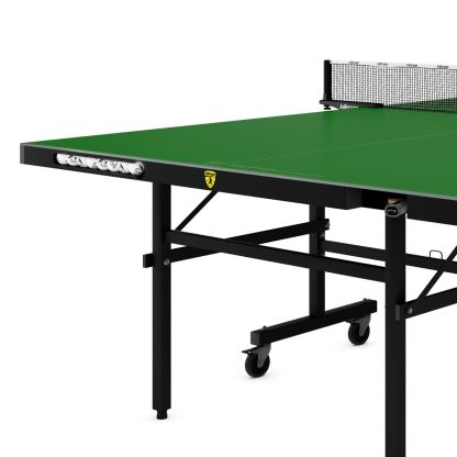 Killerspin MyT10 EmeraldCoast Table Tennis Table End Detail | moneymachines.com
