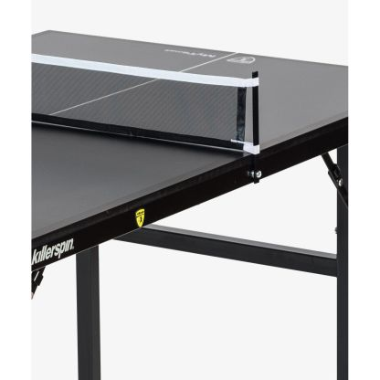 Killerspin MyT Small Deep Chocolate Ping Pong Table Net Detail | moneymachines.com