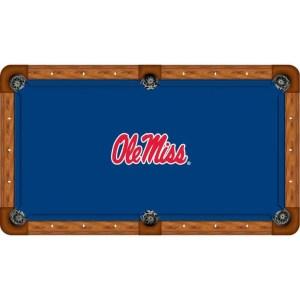 Mississippi Ole Miss Rebels Billiard Table Cloth | moneymachines.com