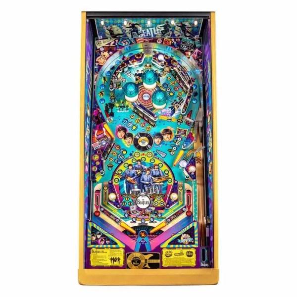 Stern Beatles Gold Edition Pinball Game Machine Playfield   moneymachines.com