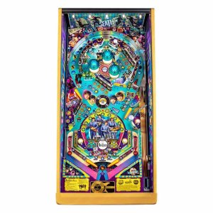 Stern Beatles Gold Edition Pinball Game Machine Playfield | moneymachines.com
