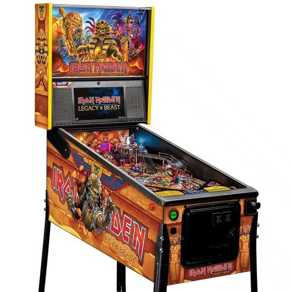 Stern Iron Maiden Premium Pinball Game Machine   moneymachines.com