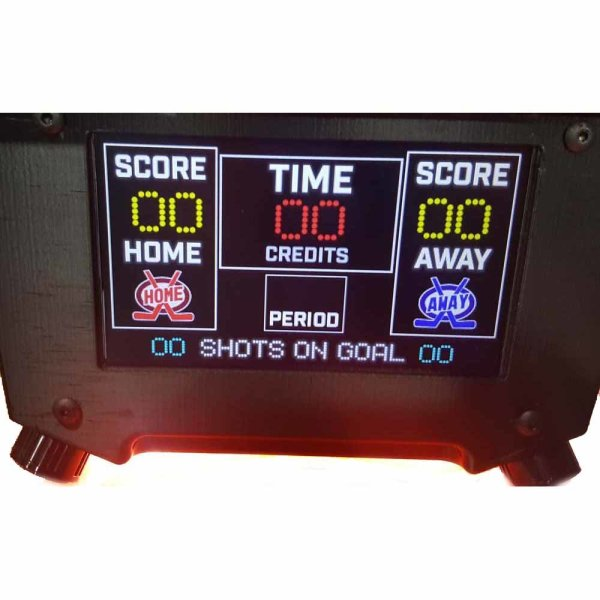 Super Chexx Pro Bubble Hockey Table Scorer | moneymachines.com