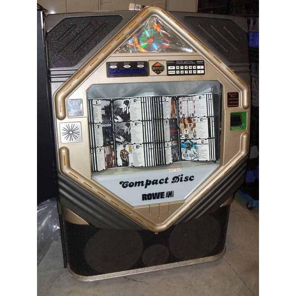 Used Rowe/AMI CD 100E Jukebox Loaded With CDs | moneymachines.com