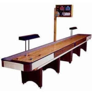 Coin Operated Shuffleboard Tables