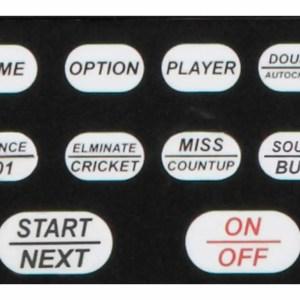 Viper 797 Electronic Dartboard Control Buttons   moneymachines.com