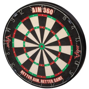 Viper AIM 360 Sisal Dartboard   moneymachines.com