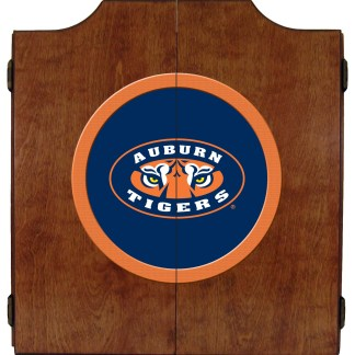 Auburn Tigers College Logo Dart Cabinet | moneymachines.com
