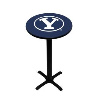 Brigham Young Cougars College Logo Pub Table | moneymachines.com