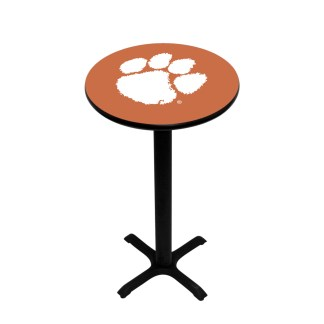 Clemson Tigers College Logo Pub Table | moneymachines.com